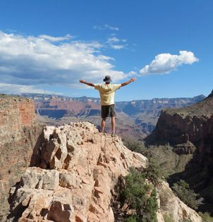 grand canyon guided hiking tours