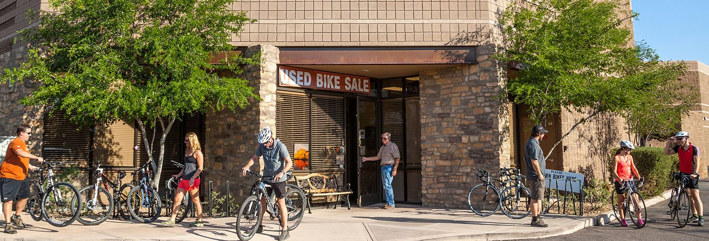 AOA bike rental shop and used bike sales in Phoenix