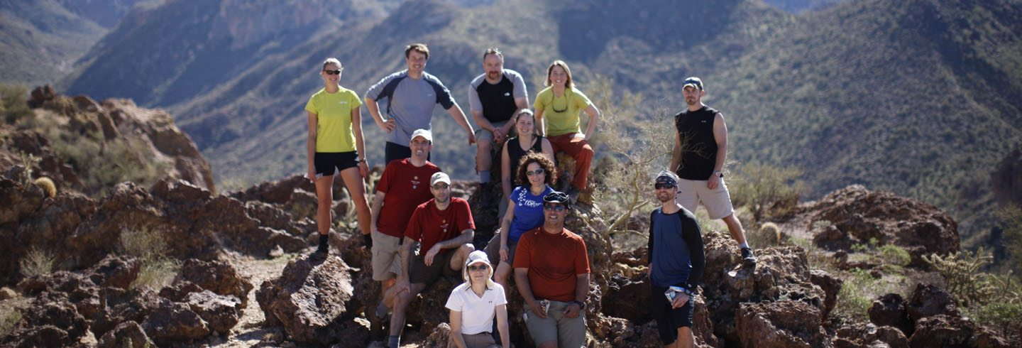 AOA Backpacking in the Superstition Mountains Arizona