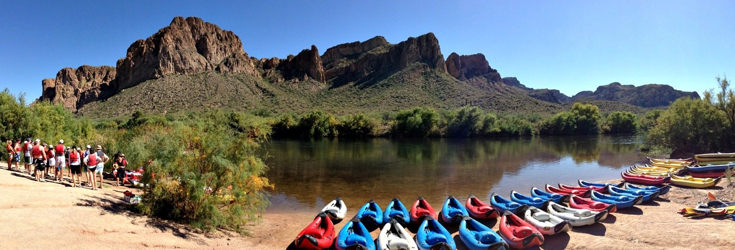 AOA Half Day Kayaking Tour on the Lower Salt River