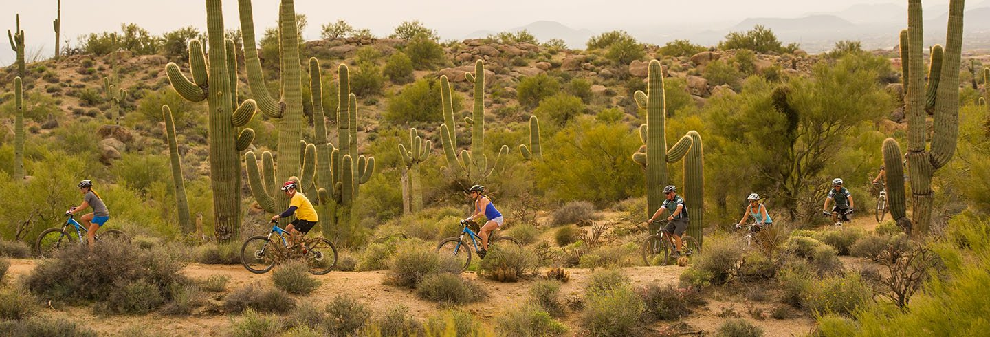 Mountain Bike Rentals - AOA Adventures - Scottsdale, AZ (Full and Front Suspension 29ers)