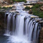 Waterfalls in Havasupai, Rock falls