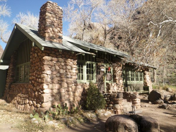 stay at phantom ranch on a guided hiking trip