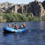 AOA Guided Raft Tours on the Salt River