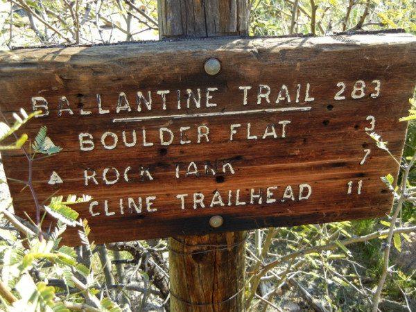 Hike the Ballantine trail in Arizona