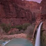 Havasu Falls, the most famous waterfall in Havasupai