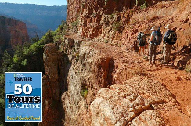 Grand Canyon Rim to Rim guided hiking tour