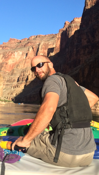 James Rafting the Colorado River | AOA Guides | Hiking, Backpacking, Biking