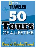 Named by National Geographic Traveler as one of 50 Tours of a Lifetime