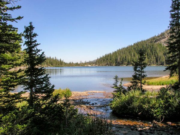 guided hike to colorado's alpine lakes