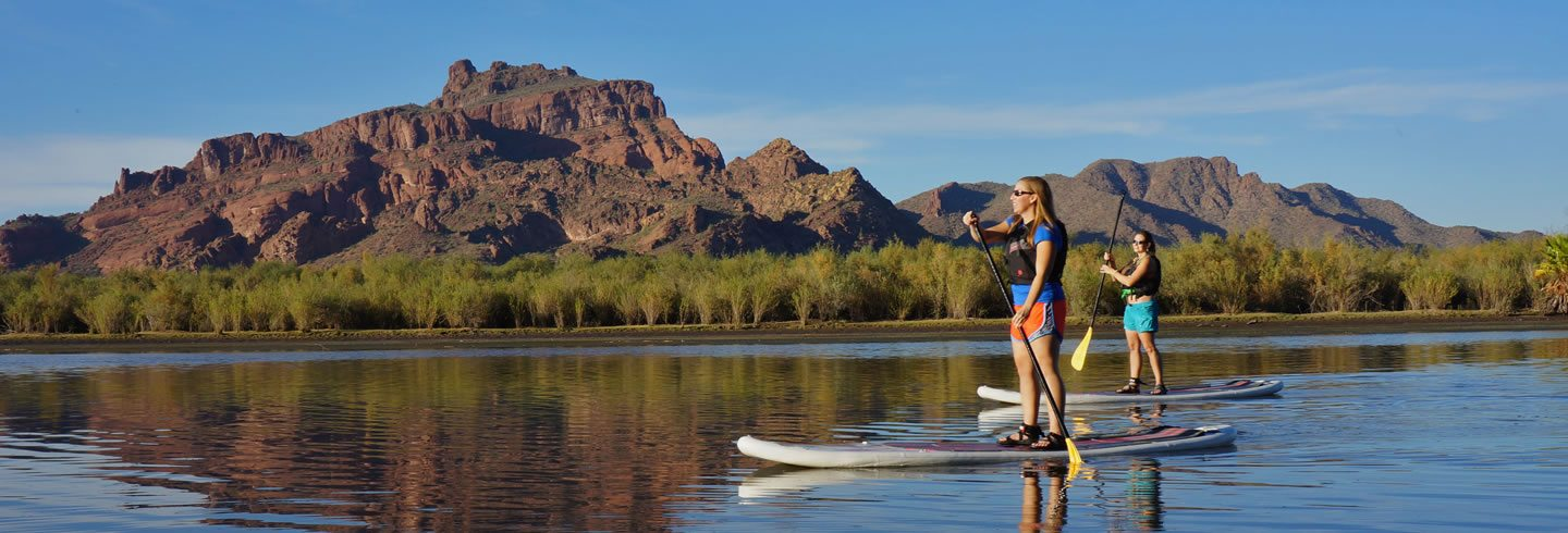 Salt River Stand Up Paddle Board Tour Phoenix