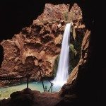 Hike to Mooney Falls in Havasupai, Grand Canyon