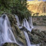 New Navajo Falls, Grand Canyon, Havasupai