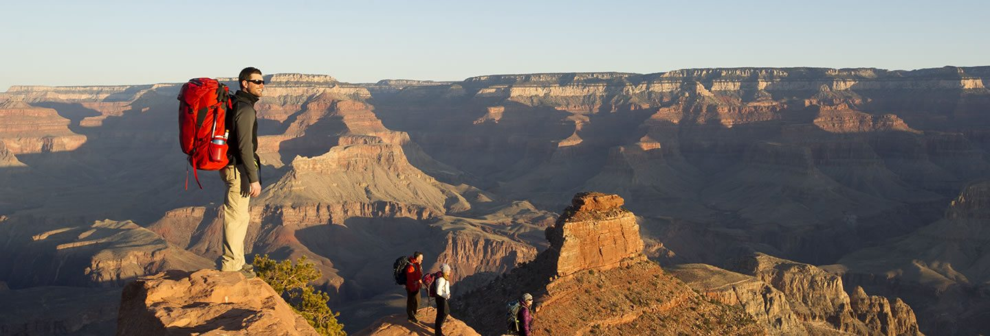 Guided backpacking in Grand Canyon