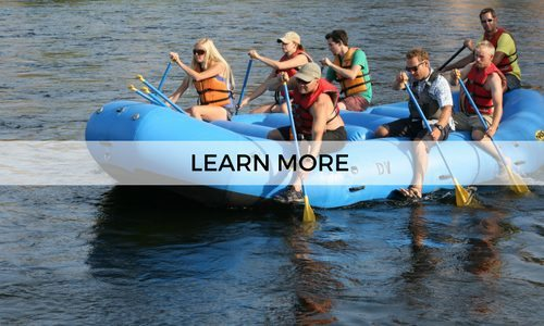 Learn more about our guided half day rafting tours