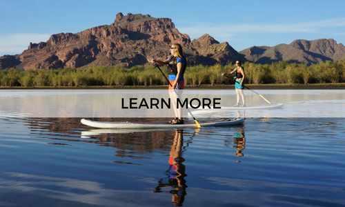 Learn more about our guided half day SUP tours
