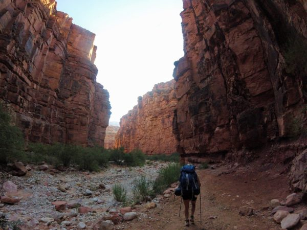 Guided backpacking trip to Havasupai with AOA