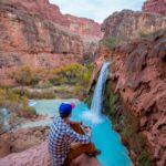 View of Havasu Falls on a guided backpacking trip with AOA