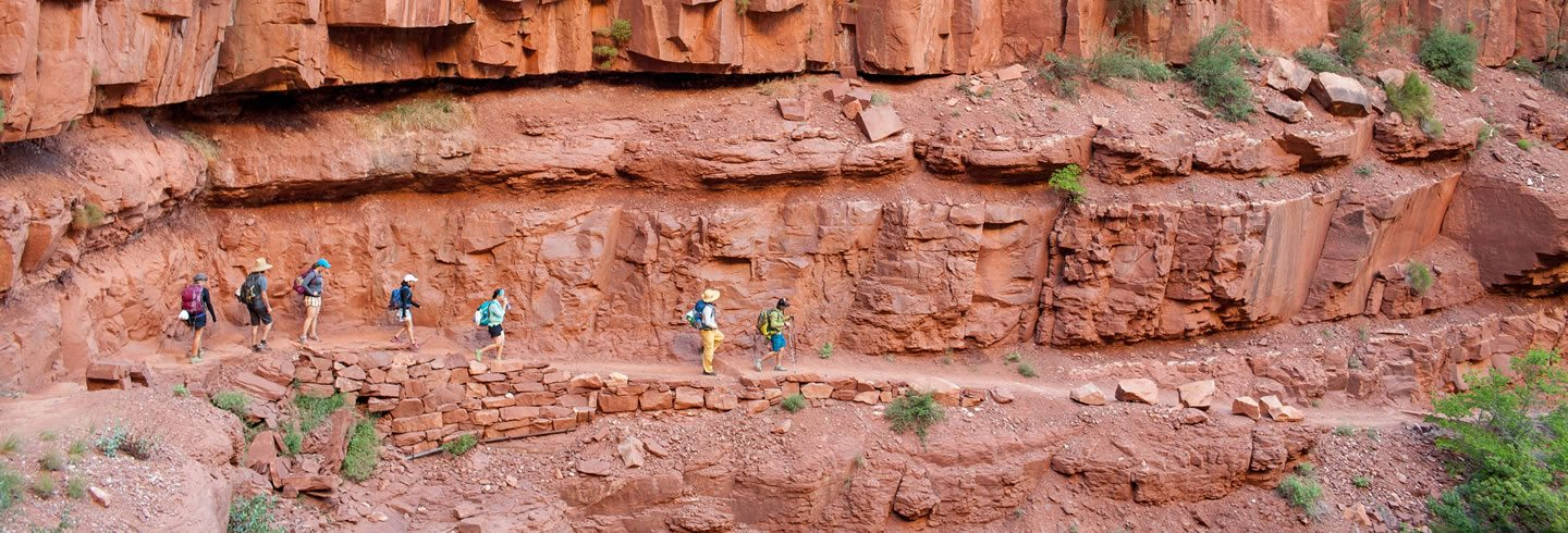 Guided Grand Canyon Hiking and Backpacking Trips