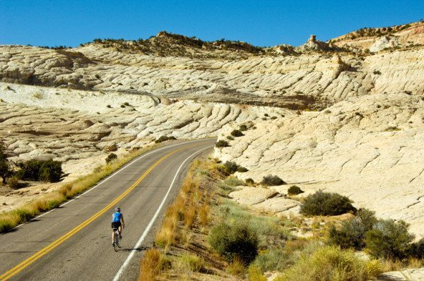 Best road cycling in Escalante national monument