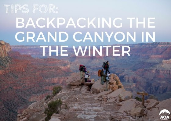 b61d43159d1 Tips to Backpack the Grand Canyon in Winter - Arizona Outback Adventures