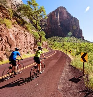 Cycling tours Bryce Canyon and Zion National Park