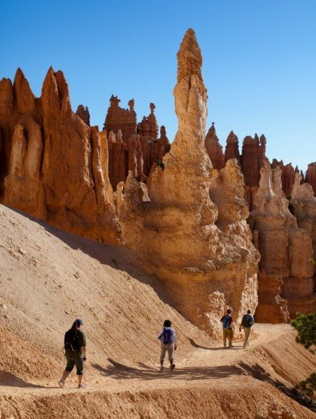 Hiking in Bryce canyon national park - jill richards