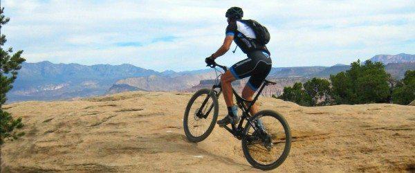 Mountain Biking Gooseberry mesa