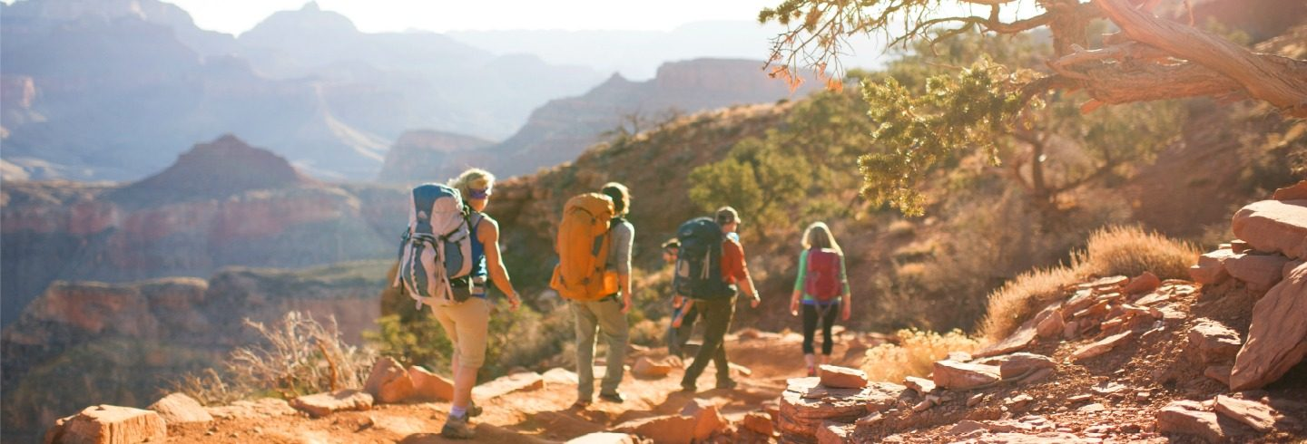 Guided backpacking tours of the Grand Canyon