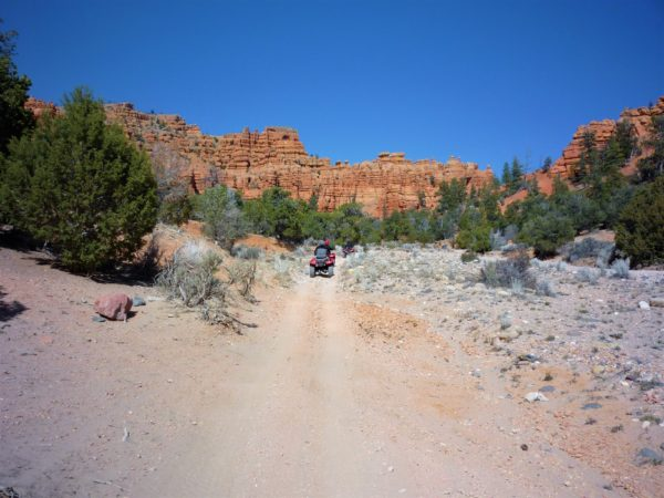 Explore Red Canyon State Park in Southern Utah, camp at Red Canyon State Park.