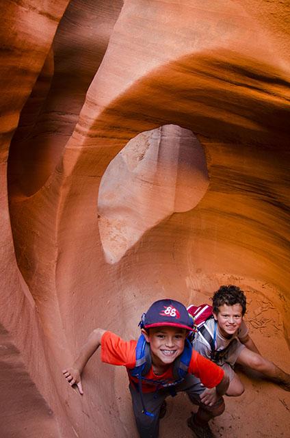Peekaboo Canyon, Grand Staircase-Escalante National Monument.
