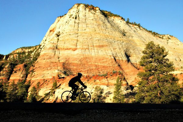 Go on a guided cycling trip from Zion to Las Vegas with AOA