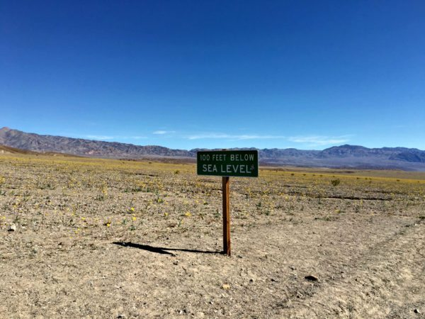 Ride through Death Valley to Las Vegas on a guided cycling trip with AOA