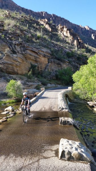 guided road bike journey through southern arizona with AOA
