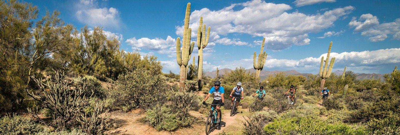 Arizona mountain bike tour