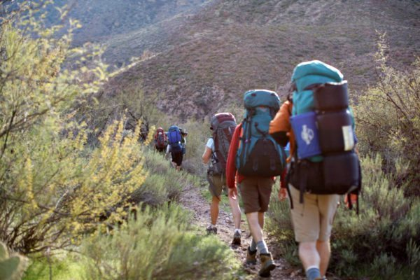 Go on a guided backpacking trip of the Superstiton Wilderness with AOA