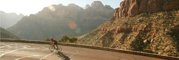 Zion Park road cycling tour