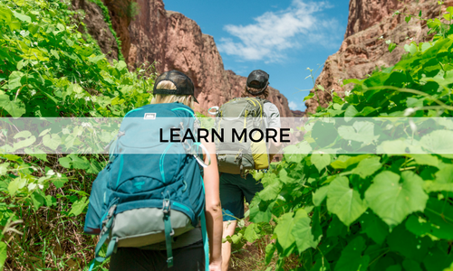 Go on a guided 4 day hiking trip to Havasupai with AOA