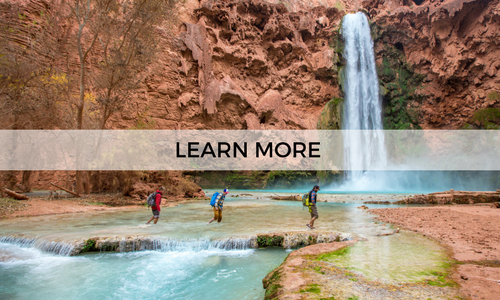 Learn more about a guided backpacking trip to Havasupai with AOA