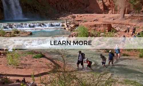 Explore the Grand Canyon and Havasupai on a guided 6 day adventure with AOA
