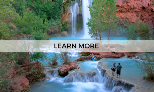 Learn more about a 3 day escape to Havasupai with AOA