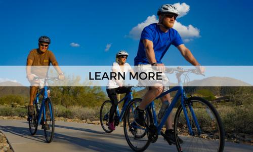 Go on a guided neighborhood bike tour with AOA