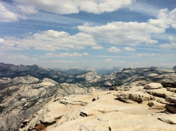View of Clouds Rest in Yosemite National Park