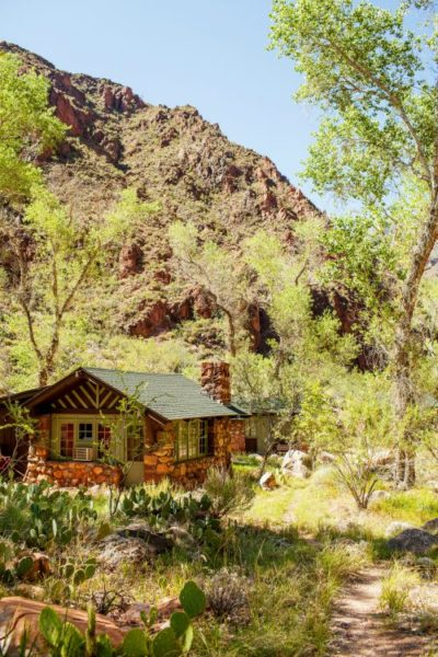 Stay at Phantom Ranch in the bottom of the Grand Canyon