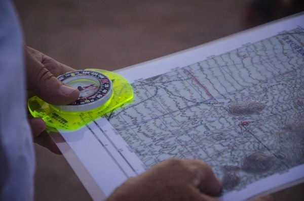 Navigation aids are important while hiking