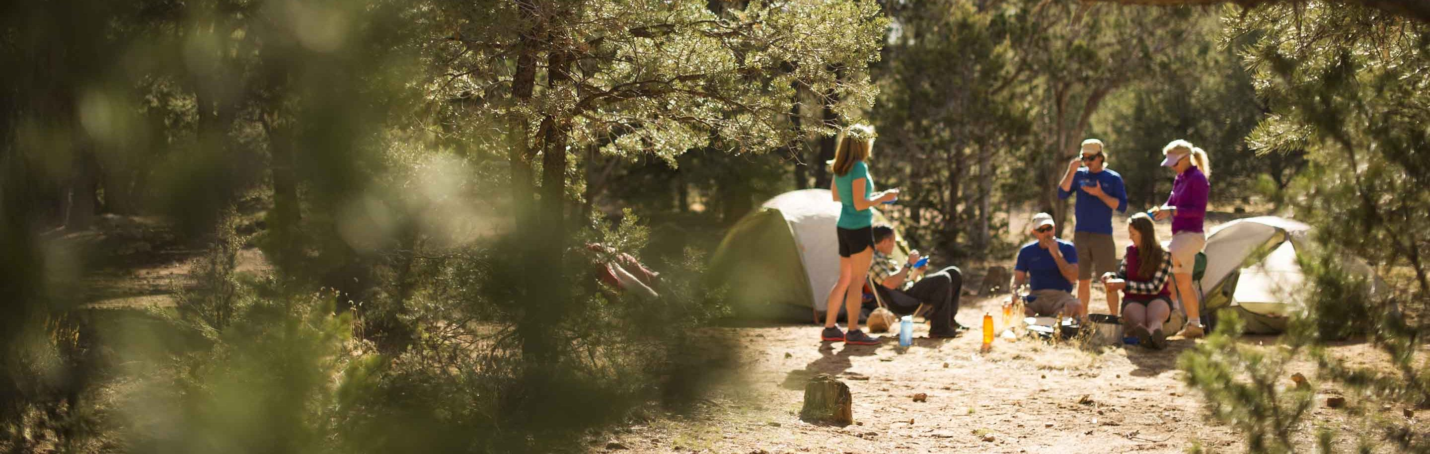 guided hiking and camping trips all over the southwest with AOA Adventures