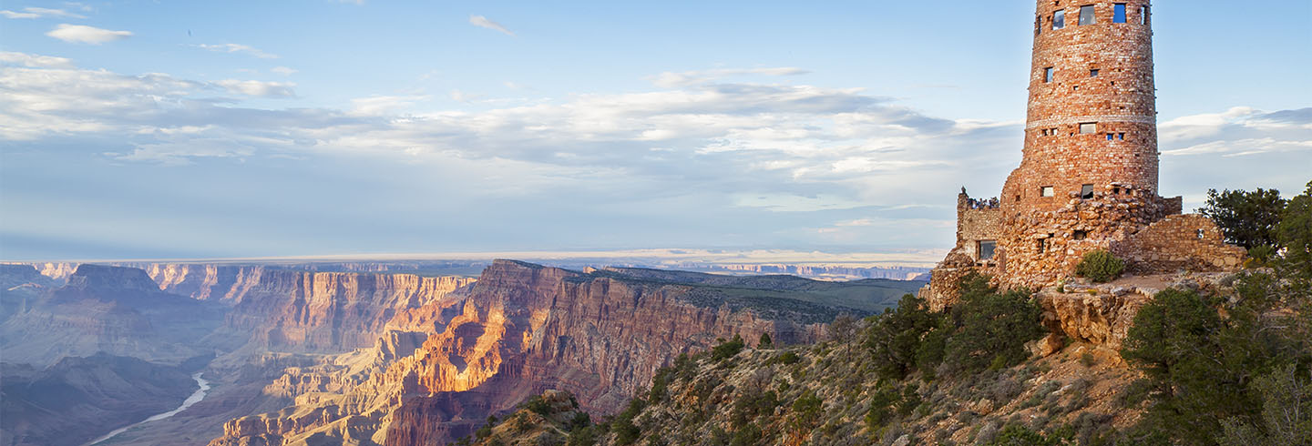 Go on a guided hiking and camping trip on the South and North Rims of Grand Canyon National Park
