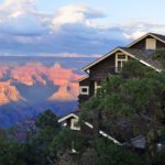 The famous Kolb Studio at Sunset, Grand Canyon National Park.