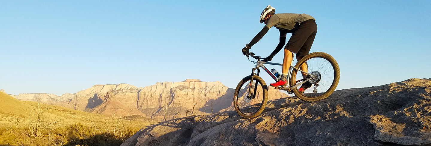 Go on a 4 day guided mountain bike trip in Southern Utah witih AOA