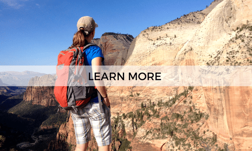 go on a guided hiking and camping trip to ZIon National Park with AOA